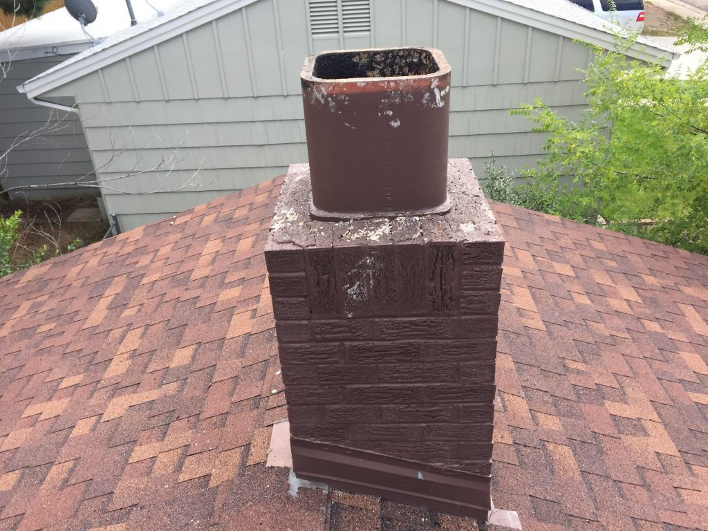 Beofre Chimney Stack Clean Sweep Co